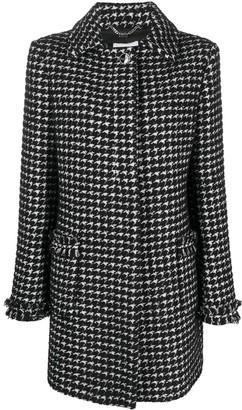 Blumarine Houndstooth print coat