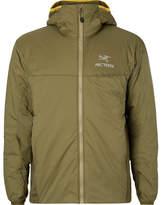 Arc'teryx Atom Lt Shell Hooded Jacket - Sage green