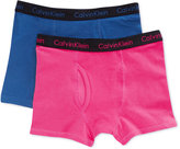 Calvin Klein Boys' 2-Pack Boxer Briefs