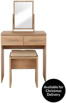 Prague Dressing Table, Stool And Mirror Set