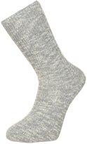 Birkenstock Fashion Slub Socks Gray/white