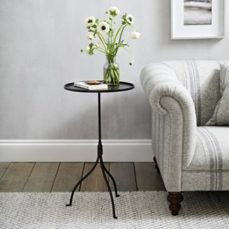 The White Company Holkham Side Table, Black, One Size