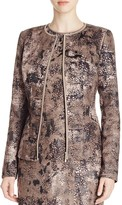 Lafayette 148 New York Maris Abstract Print Jacket