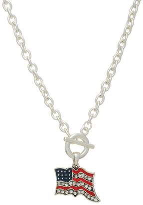 mimis Mimi's Gift Gallery Usa Flag Necklace