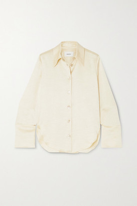 Nanushka Mandine Washed-satin Shirt