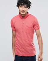 Brave Soul Short Sleeve Polo Shirt