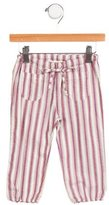 Babe & Tess Girls' Striped Straight-Leg Pants