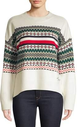 Tommy Hilfiger Fair Isle Balloon-Sleeve Sweater