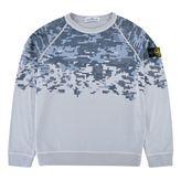 Stone Island Junior Boys Pixel Sweatshirt
