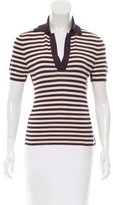 Hermes Striped Knit Top