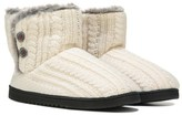 Dearfoams Women's Cable Knit Bootie Slipper