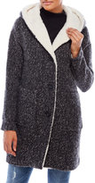 Lucky Brand Faux Fur-Lined Hooded Coat