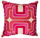 Trina Turk Embroidered Ogee Throw Pillow w/ Tags
