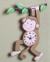 The Well Appointed House Teamson Design Sunny Safari Wall Clock-ON BACKORDER UNTIL MID-JUNE 2016