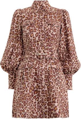 Zimmermann Resistance Safari Shirt Dress