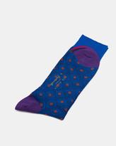 Geo Diamond Socks