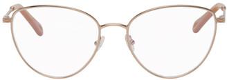 Chloé Copper Metal Cat-Eye Glasses