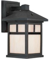 Forte Lighting 17019-01 Energy Efficient Craftsman / Mission Outdoor Wall Sconce