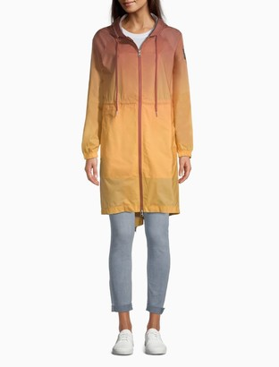 Calvin Klein Ombre Full Zip Hooded Jacket