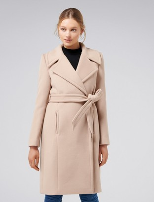 Ever New Florence Wrap Coat