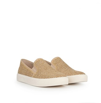Erie Raffia Slip-On Sneaker