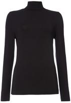 Tu clothing Black Long Sleeve Plain Roll Neck