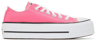 Converse Pink Seasonal Color Chuck Taylor All Star Lift Low Sneakers