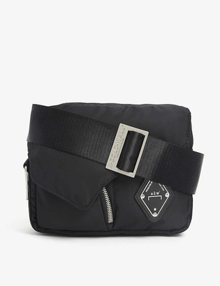 A-Cold-Wall* Logo-patch padded nylon cross-body bag