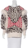 Emilio Pucci Mohair & Wool Fringe Sweater