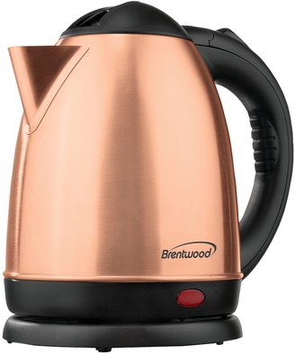 Brentwood 1.5-Liter Electric Stainless Steel Ke ttle