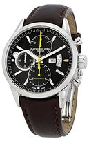 Raymond Weil Men's 7730-STC-20101 Freelancer Black Chronograph Dial Watch