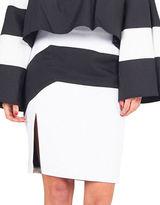 KENDALL + KYLIE Colorblock Pencil Skirt