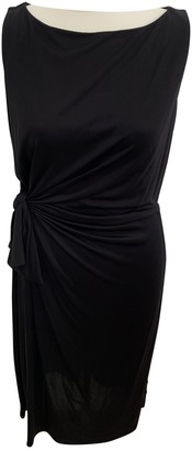 Issa Black Silk Dress for Women