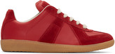 Maison Margiela Red Replica Sneakers