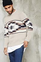 Forever 21 FOREVER 21+ Southwestern Pattern Sweater