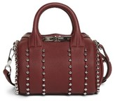Alexander Wang Mini Rockie Studded Leather Crossbody Satchel - Purple