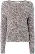 Oui Multi thread crew neck knit