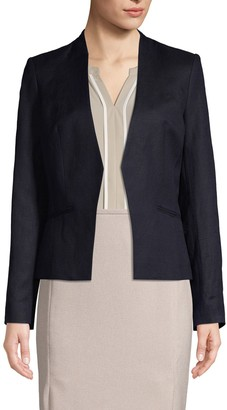 Calvin Klein Collection Classic Open-Front Jacket