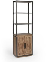 Pottery Barn Parquet Reclaimed Wood Bookcase