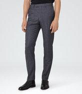 Reiss Severinos Slim Check Trousers
