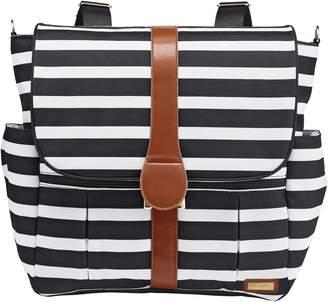 JJ Cole Striped Diaper Bag