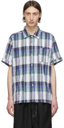 Engineered Garments Multicolor Check Camp Shirt