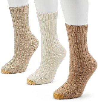 Gold Toe GOLDTOE 3-pk. Weekender Crew Socks - Women