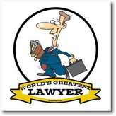 3dRose LLC ht_103306_3 Dooni Designs Worlds Greatest Cartoons - Funny Worlds Greatest Lawyer II Occupation Job Cartoon - Iron on Heat Transfers - 10x10 Iron on Heat Transfer for White Material