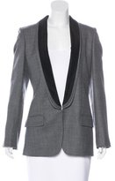 Stella McCartney Wool Shawl Collar Blazer