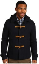 Scotch & Soda Wool Toggle Jacket with Hood (Night) - Apparel