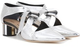 Proenza Schouler Metallic Leather Pumps