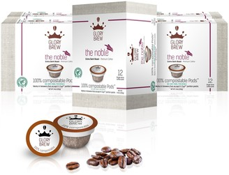 Glorybrew The Noble 60-Ct Extra Dark Compostable Coffee Pods