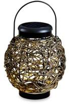 Kenroy Home Tangle Rattan Solar Lantern