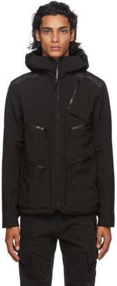 C.P. Company Black Nylon Goggles Jacket